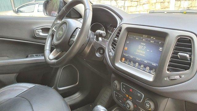 Jeep Compass Longetude 2.0 16v 2017 30mil km Completo  - Foto 6