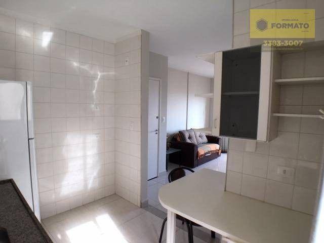 Apartamento Mobiliado com 1 dormitório para Venda e Locação - Centro - Foto 8