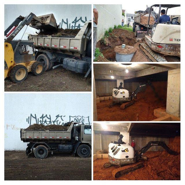 Demolição Retroescavadeira, Mini Escavadeira  - Foto 3