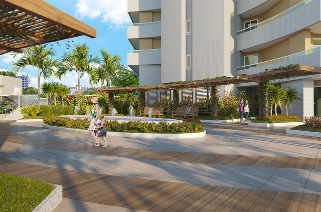 Apartamento para venda com 144 metros quadrados com 3 quartos em Fátima - Fortaleza - CE - Foto 4