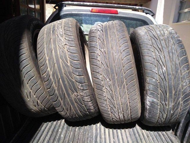 Rodas Mercedes aro 19 + pneus Maxxis excelente estado - Foto 5