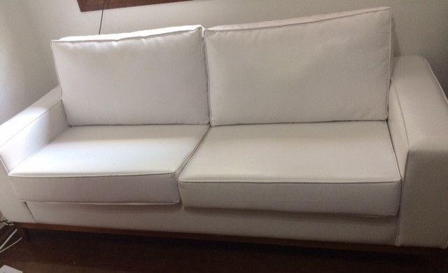 Sofá branco tokstok - Foto 2