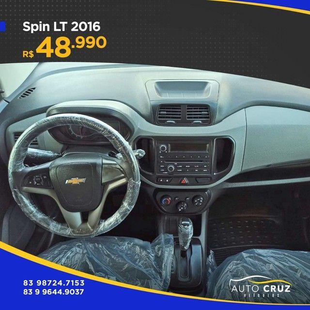 SPIN LT 2016 AUT... EXTRA (Auto Cruz veículos) - Foto 5