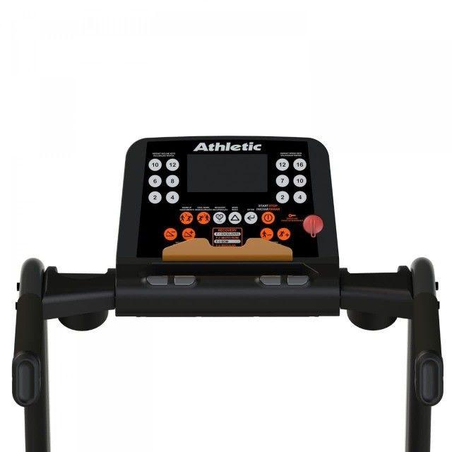 Esteira Athletic Advanced 16km/h - 130kg - inclinação eletrônica - pronta entrega - Foto 3