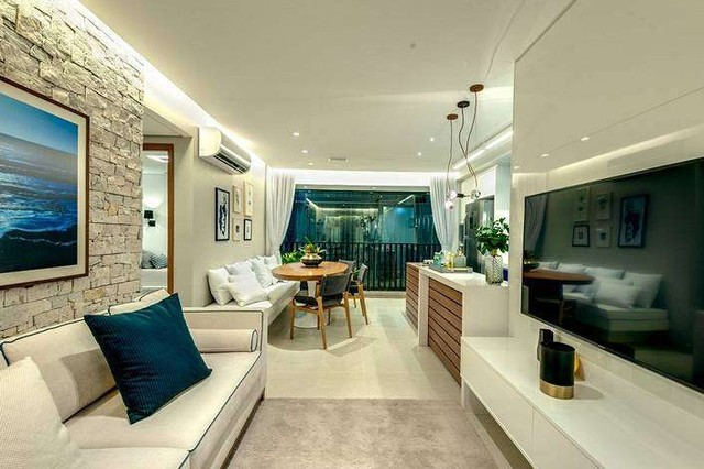 Hit Marista - Apartamento de 116m², com 2 à 3 Dorm - Setor Marista - GO - Foto 10