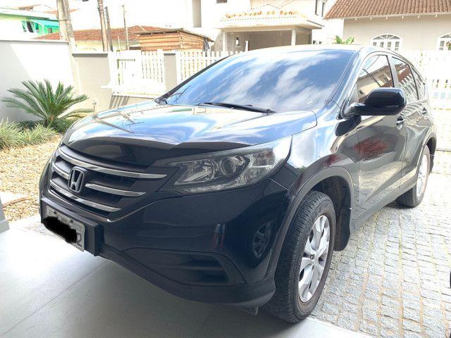 Honda CR-V 2013 LX interior bege