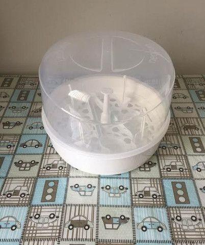 Esterilizador De Mamadeira Microondas Vapor Bebê Neopan<br><br> - Foto 4