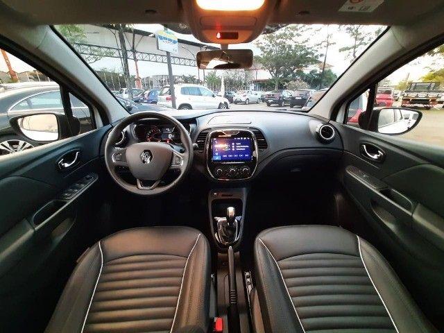 Renault Captur Life 1.6 16v CVT - Couro + Mídia - Apenas 10.000 km! - Foto 5