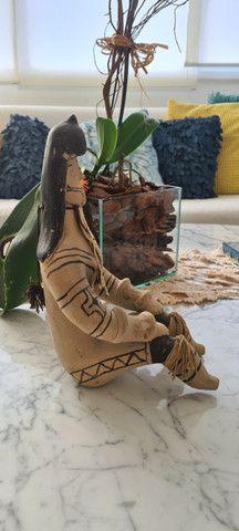 Estatuetas Casal de ìndios - Foto 3