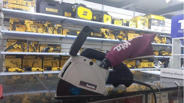 Máquina De Cortar Parede Cortadora Manual Makita Sg1250 220v preço imperdível
