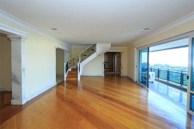 Apartamento para alugar com 4 dormitórios em Alto da boa vista, São paulo cod:REO394791 - Foto 3