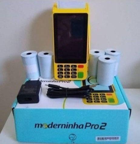 Não perca mais vendas,maquinas de cartão pro2 - Foto 2