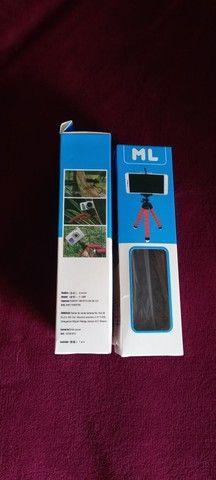 Mini Tripé,Fone de ouvido Bluetooth,cabo magnético,conector Bluetooth para carro.