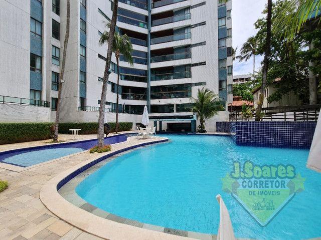 Ponta de Campina, Mobiliado, 4 suítes, 206m², R$ 5000 C/Cond, Aluguel,Apartamento,Cabedelo - Foto 15