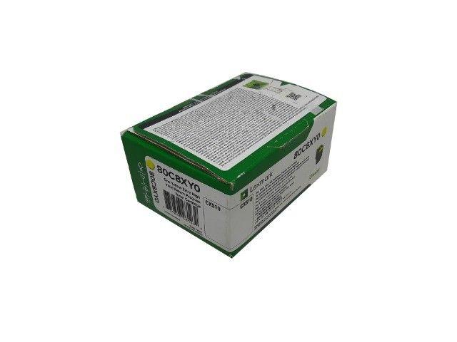Toner Lexmark 808XY / 80C8XY0 Yellow Original Novo - Foto 2