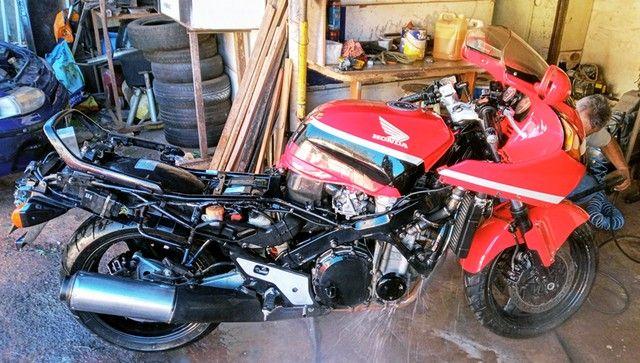 Honda CBR 1000F 1993 Vermelha, Raridade, Toda original - Foto 10