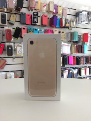 Iphone 7 gold de 32gb lacrado!