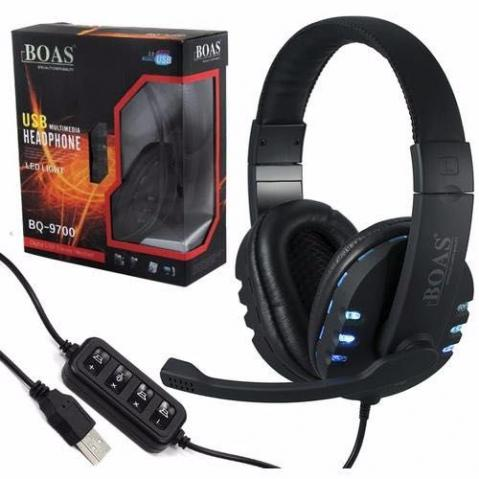 Fone Ouvido Gamer Usb Headphone Mic Ps3 Ps4 Pc Not Novo