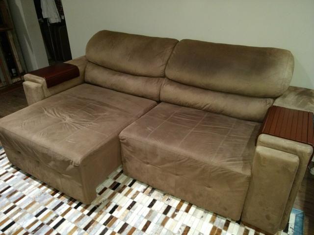 Vendo sofá retrátil 3 lugares Herval
