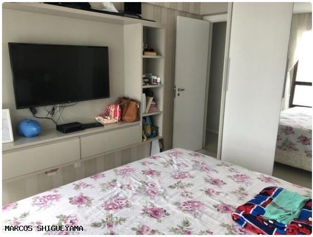 Apartamento com 3/4 (2 suítes) + dependência. armários e painéis primeira linha! VG1620 - Foto 6