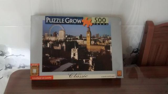 2 Quebra cabeças Grow, 500 e 1000 peças