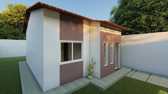 Casa até ZERO entrada 2 quartos - Foto 2
