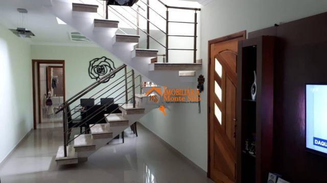 Sobrado com 3 dormitórios à venda, 147 m² por R$ 650.000,00 - Jardim Imperador - Guarulhos - Foto 2