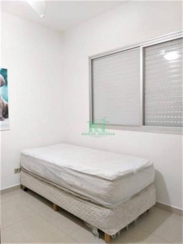 Cobertura na praia, confortável, 3 dormitórios sendo 1 suíte, 2 vagas, pitangueiras, guaru - Foto 11