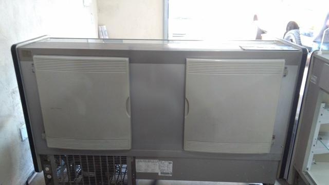 Freezer gelopar semi novo, modelo star 1,75mt, - Foto 2