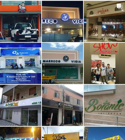 Fachada, banners, acm, cartão de visita,mdf, comunicação visual em geral - Foto 4