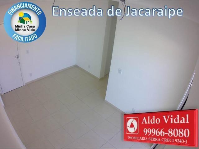 ARV 166- Apto 2 Q, Varanda,Suíte,Piscina em Jacaraipe próximo a praia - Foto 5