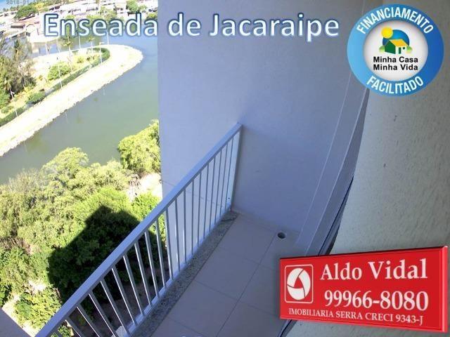 ARV 166- Apto 2 Q, Varanda,Suíte,Piscina em Jacaraipe próximo a praia - Foto 2