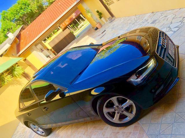 Audi a4 ambiente com teto - Foto 5