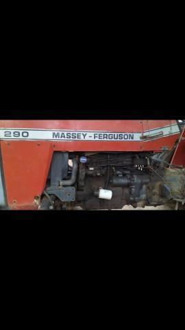 Trator Massey Ferguson 290 - Foto 2