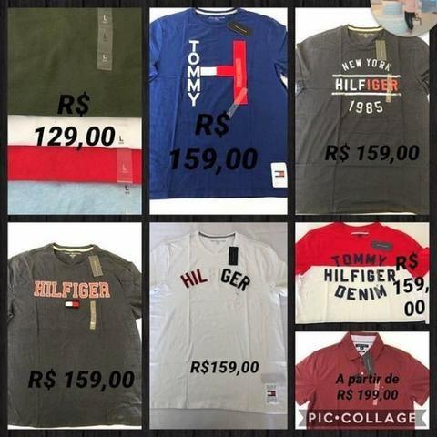 Polo e Camisetas Tommy Hilfiger novas importadas - Roupas e calçados ... 8f79bdfb07e9a