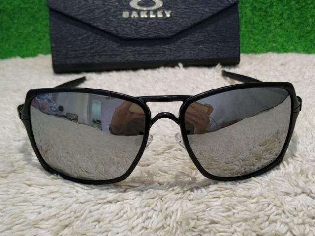 817bc546370d8 Óculos Oakley Inmate com lentes espelhada - Bijouterias