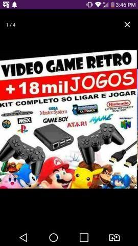 Video Game Retrô Multijogos com Raspberry pi 3 (só conectar na tv e
