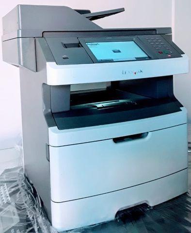 Impressora Lexmark X464, sem toner e sem foto