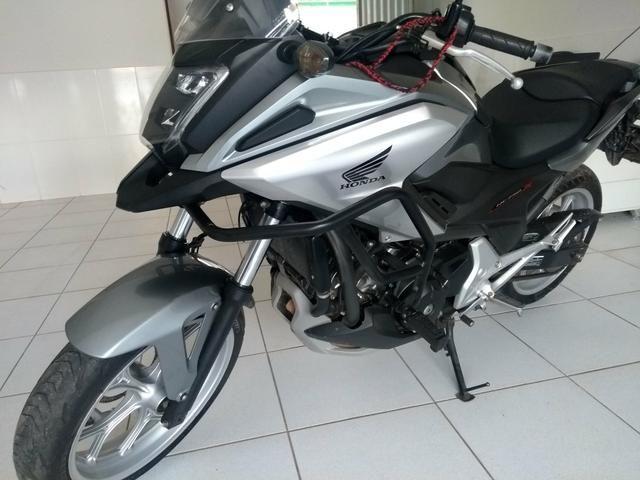 NC 750 ABS 2017 Vendo/troco ! - Foto 2