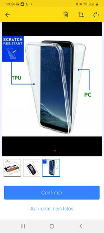 Capa 360° para celular S 20 Plus