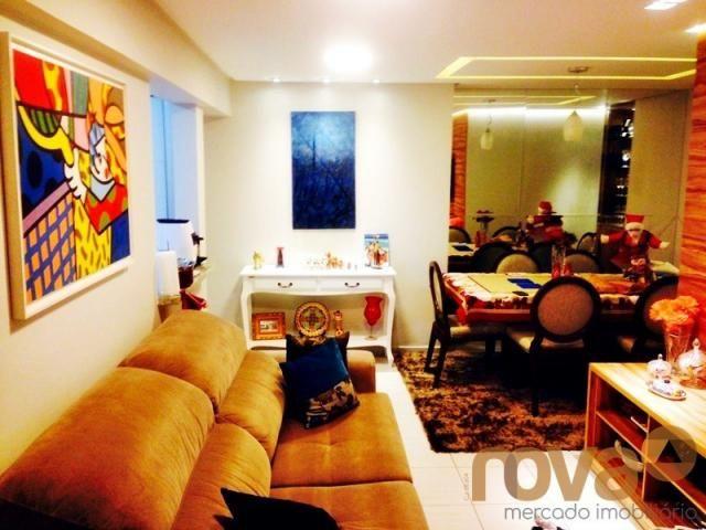 Apartamento à venda com 3 dormitórios em Parque amazônia, Goiânia cod:NOV235844 - Foto 4