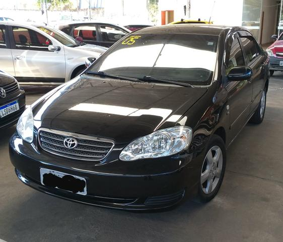 Toyota Corolla XEI 2005 completo 1.8 AC troca