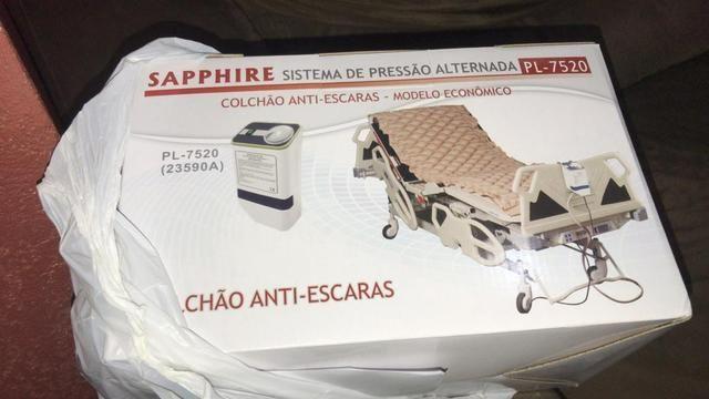 Vendo cama hospitalar 6 movimentos, colchão pneumático e aparelho bipap (respirador) - Foto 3