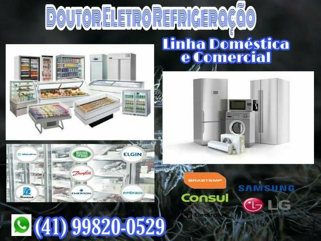 Conserto de Máquina de lavar, Geladeira, Freezer, Balcão Refrigerado, Expositor