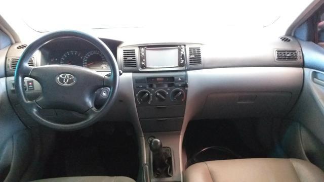 Toyota Corolla XEI 2005 completo 1.8 AC troca - Foto 5