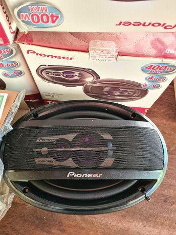 Som trixial Pioneer 6 X 9 original novo alto falante Anapolis GO - Foto 2