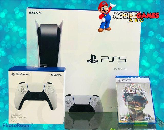 PS5 lacrado por nota e garantia. Venha conhecer a maior loja de games do ABC! - Foto 2