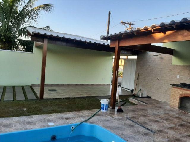 Linda Casa com 3 quartos e piscina. R$ 210.000,00 (Entrada) - Foto 12