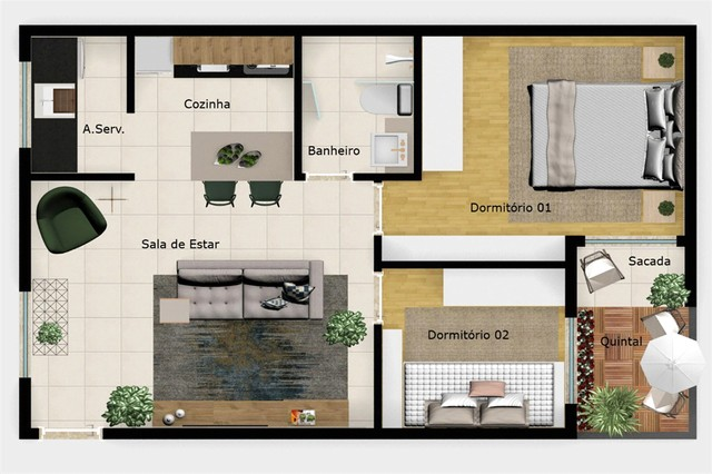 Apartamento à venda com 2 dormitórios em Penha, São paulo cod:REO508969 - Foto 13