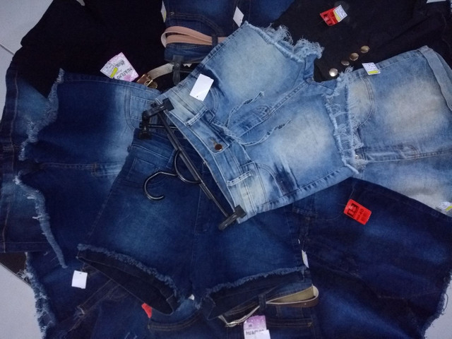 Bermudas Jeans Novas - Foto 2